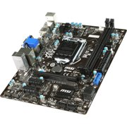 MSI USA H81M-E34 MSI H81M-E34 Desktop Motherboard - Intel H81 Chipset -  Socket H3 LGA-1150 - Micro ATX - 1 x Processor Support - 16 GB DDR3 SDRAM
