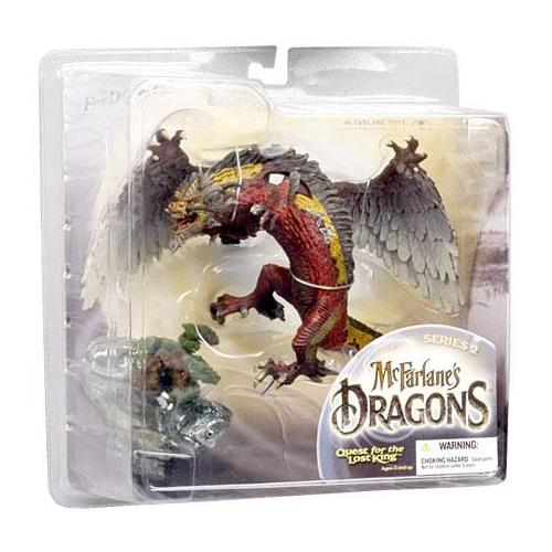McFarlane McFarlane's Dragons Series 2 Fire Clan Dragon 2 Action Figure
