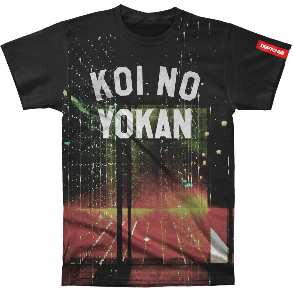 Deftones Men's  Koi No Yokan Sublimation T-shirt Black