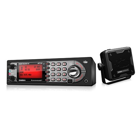 Uniden BCT15X + BC23A Mobile Trunking Scanner w/ GPS Support & External Speaker
