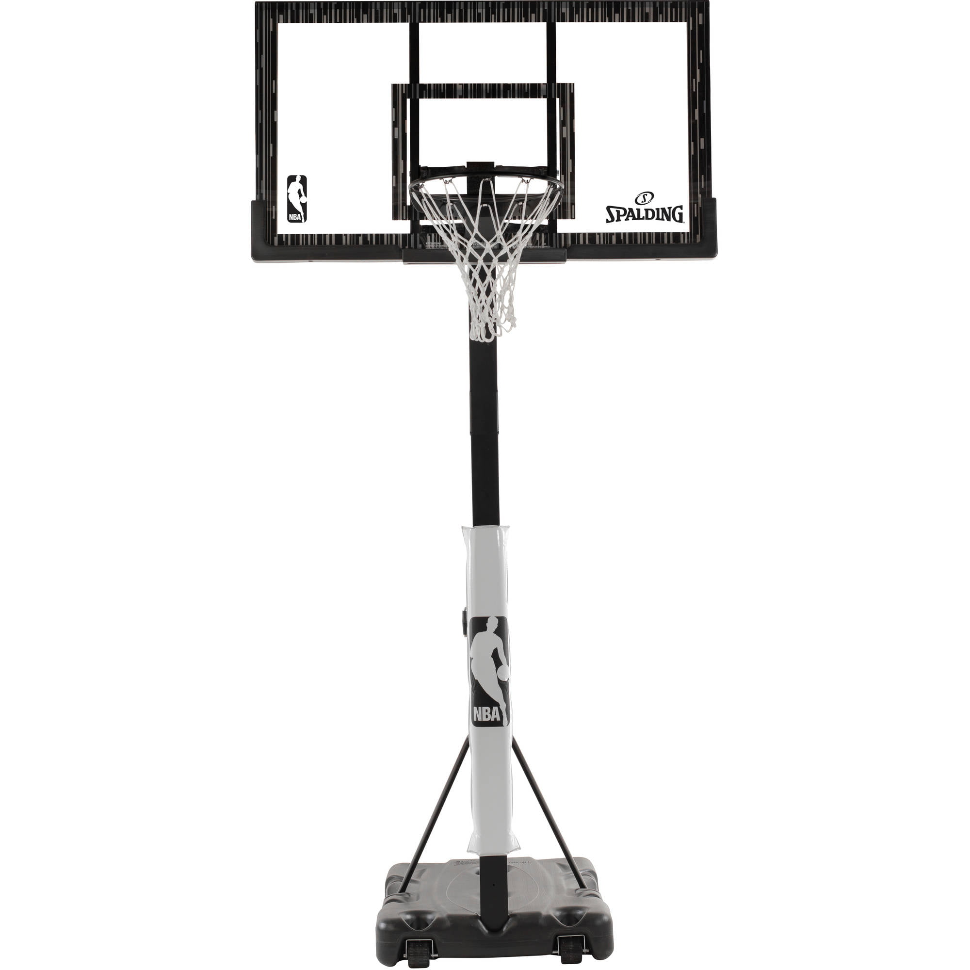 "Spalding NBA 60"" Acrylic Screw Jack Portable Hoop System by Spalding"