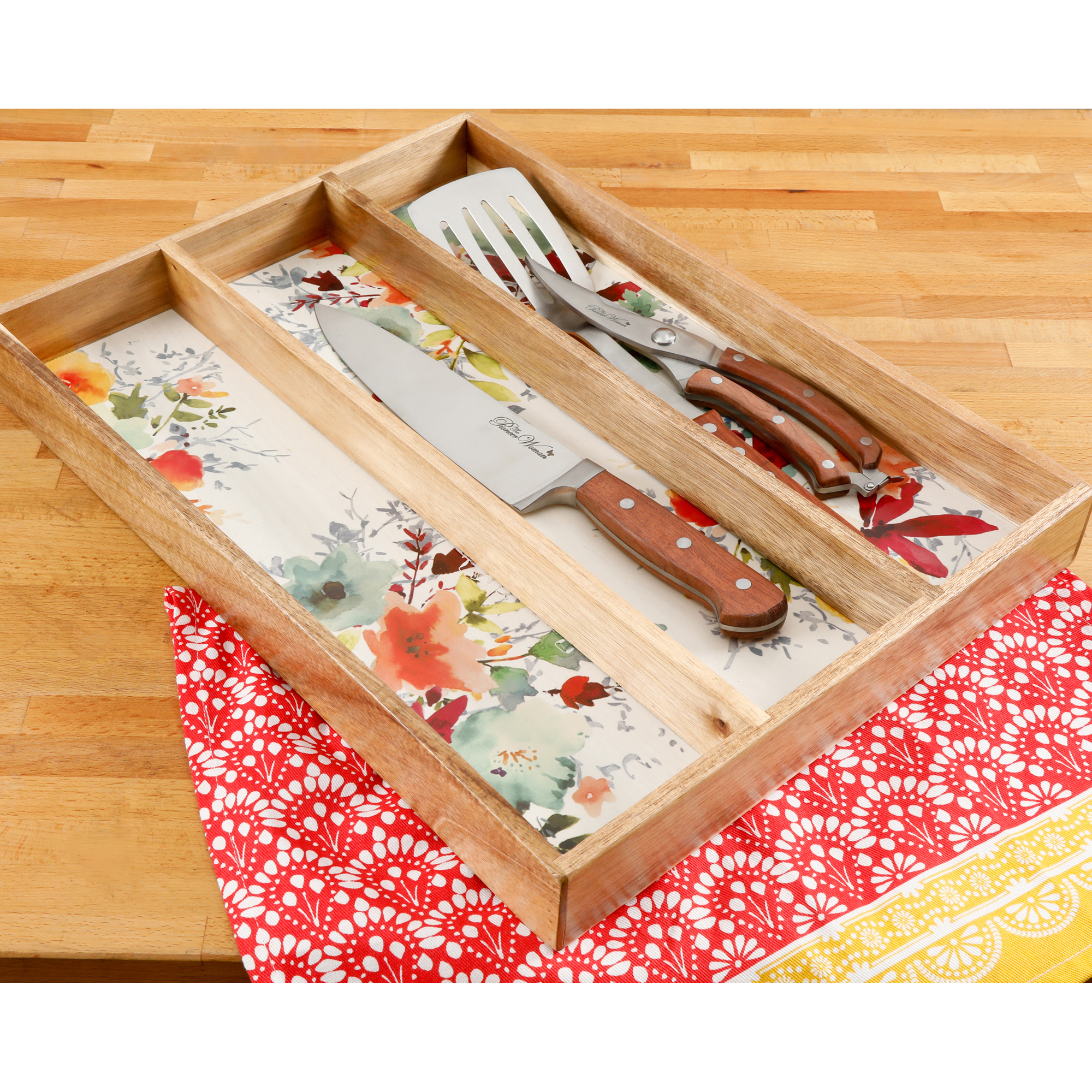 The Pioneer Woman Willow 13x18 Inch Gadget Organizer