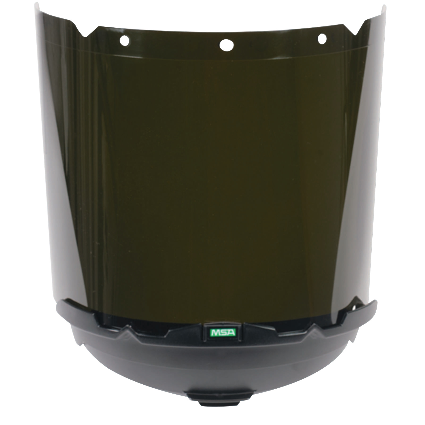 "MSA V-Gard Accessory System Welding/Cutting/Brazing Visors, Green, 17 1/4"" X 8"""