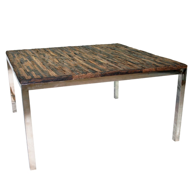 Bellini Modern Living Avalon Brown Natural Wood and Stain...