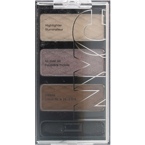 NYC New York Color HD Trio Eye Shadow Palette, Late Night Latte
