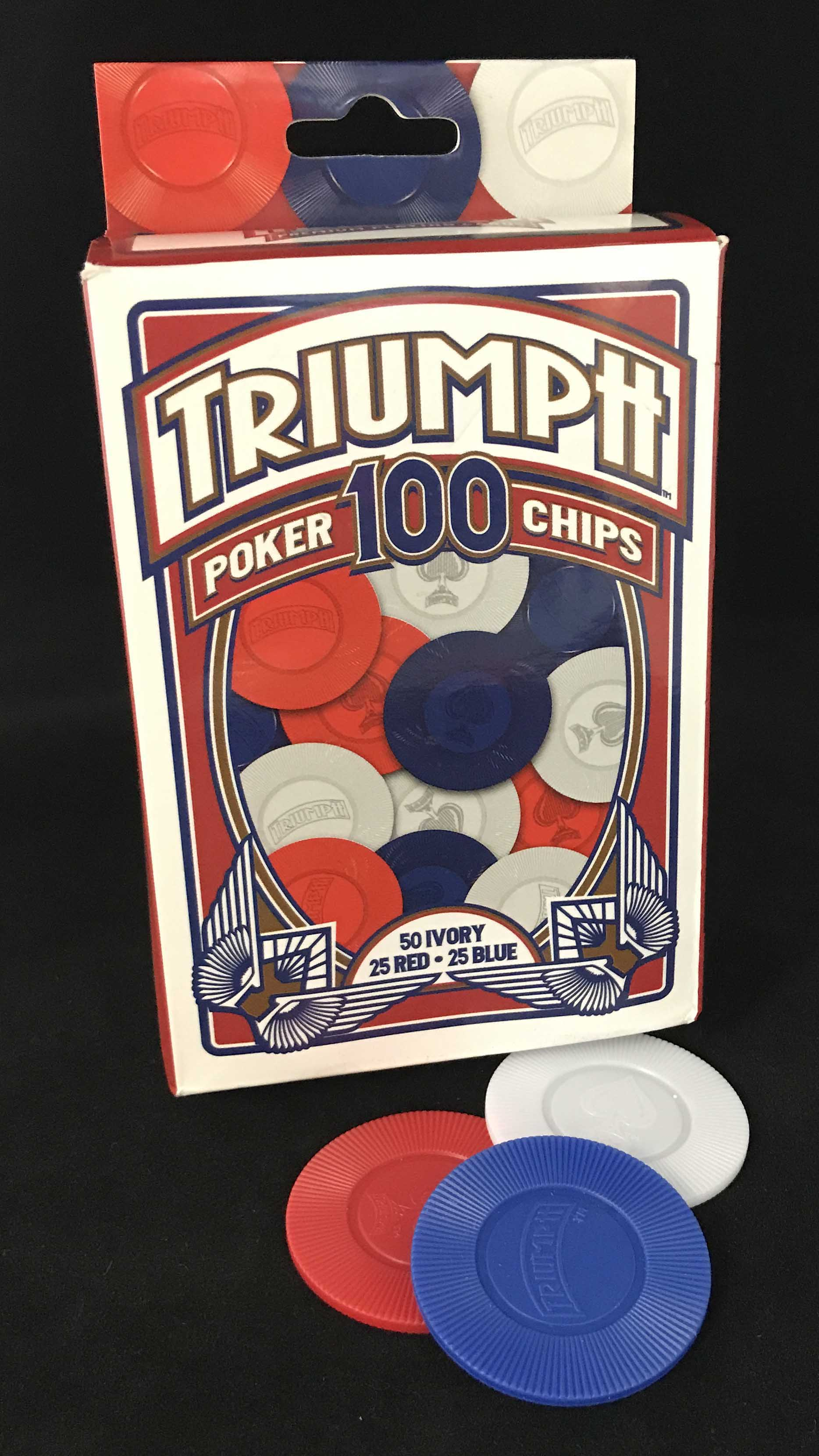 TRIUMPH POKER CHIPS by GAMING PARTNERS INTERNATIONAL USA, INC.