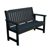 highwood® Eco-Friendly Recycled Plastic Lehigh Garden Bench, 5'