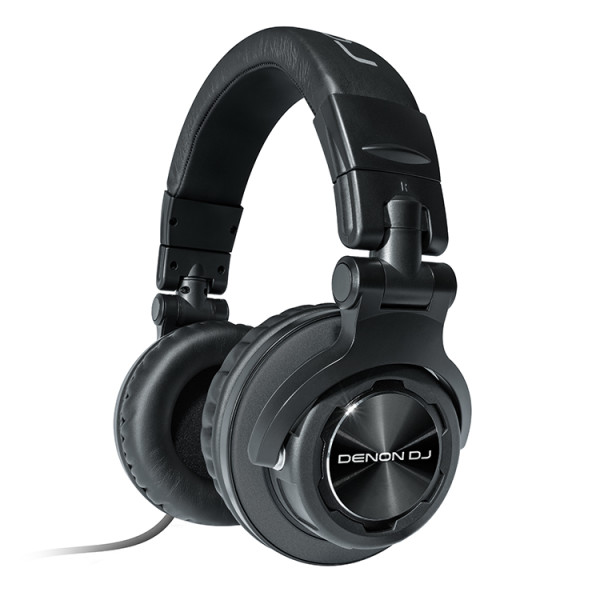 Denon DJ HP1100 | Professional Over-Ear DJ Headphones with 180-degree Cup Swivel & Leather Carry Bag (53mm... by Denon DJ