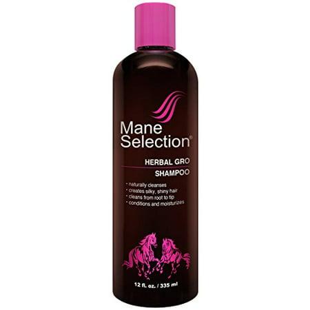 Mane Selection Herbal Gro Shampoo 12 oz. (Pack of 4) for $<!---->