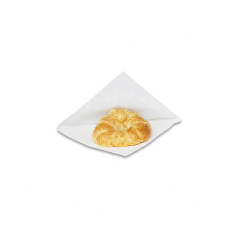 BAGCRAFT PAPERCON 7'' x 6.75'' x 0.75'' Open-Side Grease-...