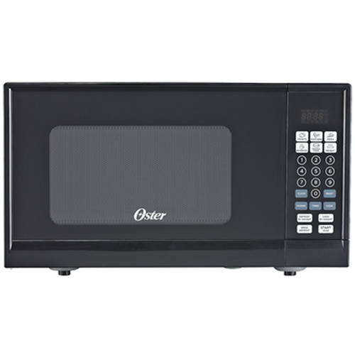 Oster 0.9-cu ft Microwave, Black