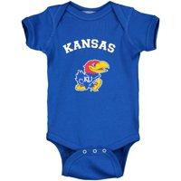 Kansas Jayhawks Infant Arch & Logo Bodysuit - Royal