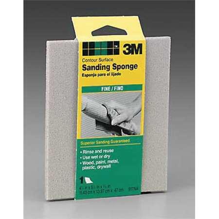 Contour Sanding Pads - 3M 70070730513 Contour Sanding Sponge,Fine,PK250