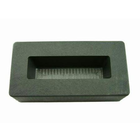 10 oz Gold Bar High Density Graphite Ingot Mold 5 oz Silver
