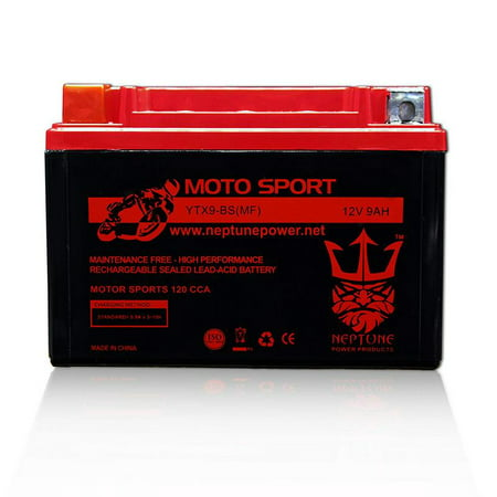 KAWASAKI EX250, Ninja 250R 2009-2013 YTX9-BS(MF) SLA Powersport Replacement Battery by (Used Kawasaki Ninja 250r For Sale Cheap)