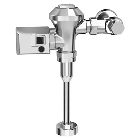 American Standard Ultima Sensor-Operated Urinal Flush Valve 0.5 GPF Diaphragm-Type for 0.75-in Top Spud with 11.5-in Supply in Polished Chrome 0.5 Gpf Adjustable Flush