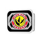 Power Rangers Live Action TV Series Dragon Zord Logo Rockstar Belt Buckle