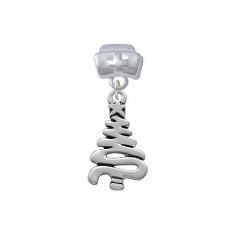 Christmas Tree Zig Zag - Nurse Hat Charm Bead