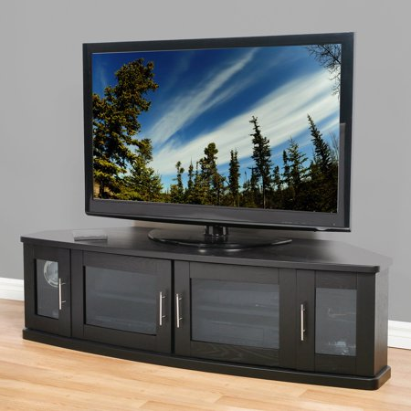 Plateau Newport 62 Inch Corner TV Stand in (Plateau Newport Series Wood)