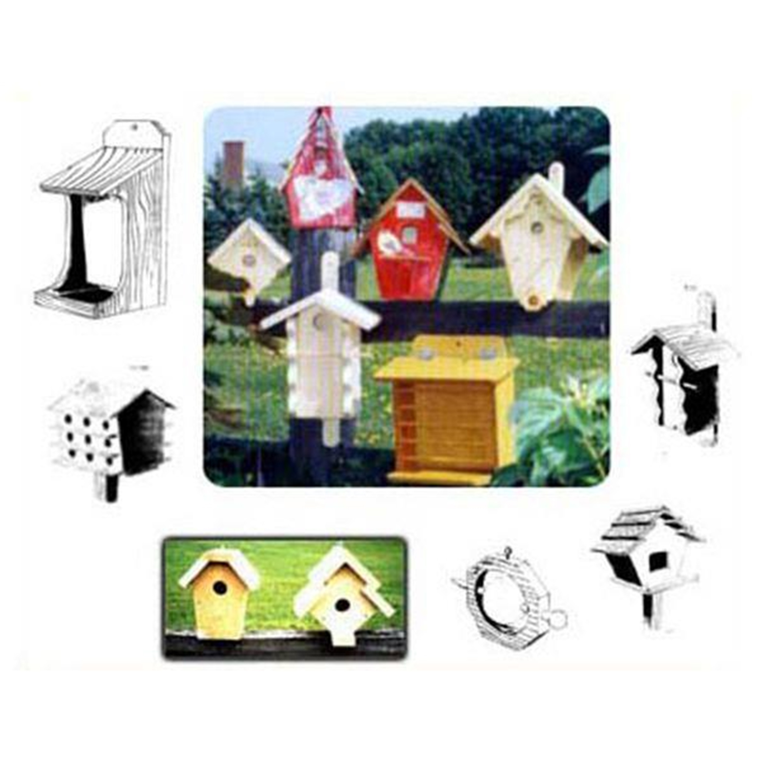 Woodworking Project Paper Plan to Build 27 Birdhouses and Feeders by