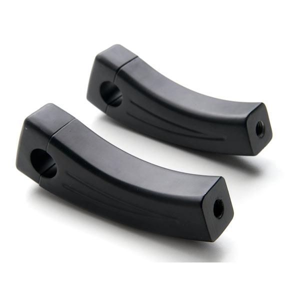 "4.5"" Black Bike Handlebar Pullback Risers 7/8"" For Honda CM 250 400 450 Custom - image 3 of 4"