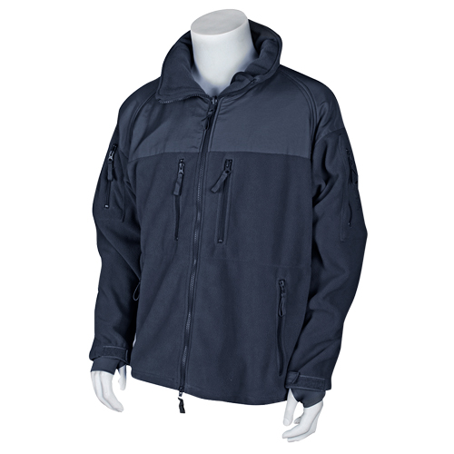 ENHANCED FLEECE TACTICAL JACKET NAVY 3XL by Fox Outdoor Products
