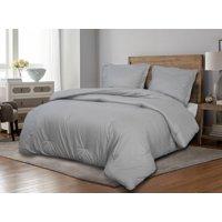 Luxury Comforter Set with Decorative Embossing
