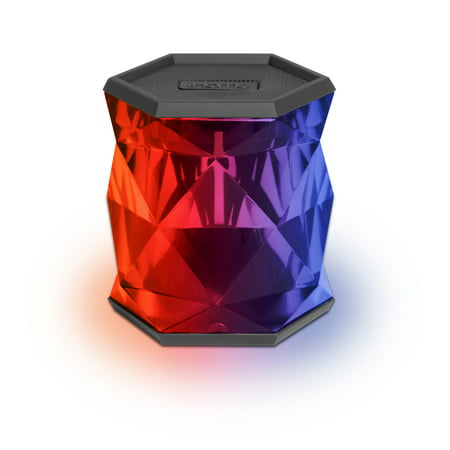 iHome IBT68BC Color-Changing Rechargeable Bluetooth Speaker with