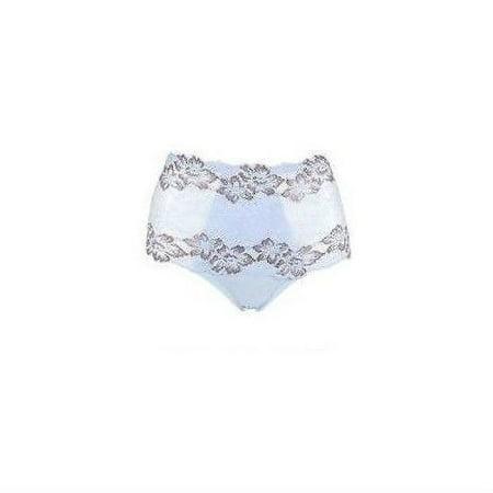 Rhonda Shear Lace Overlay Pin-Up Brief 583-518 Choose Color Regular & Plus Sizes (1X - Orange Bikini Brief
