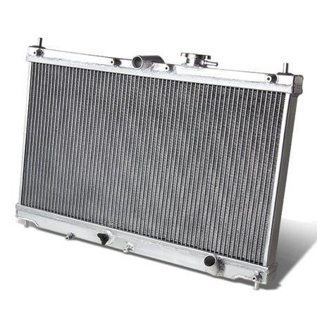 For 1990 to 1993 Honda Accord / Prelude Full Aluminum 2 -Row Racing Radiator - CB BB F23 H23 Manual MT only 91 92