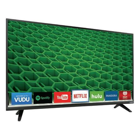 Vizio D D43 D2 43  1080P Led Lcd Tv   16 9   Black   178    178    1920 X 1080   Dts Trusurround  Dts Truvolume   20 W Rms   Full Array Led   Smart Tv   3 X Hdmi   Usb   Ethernet    D43 D2
