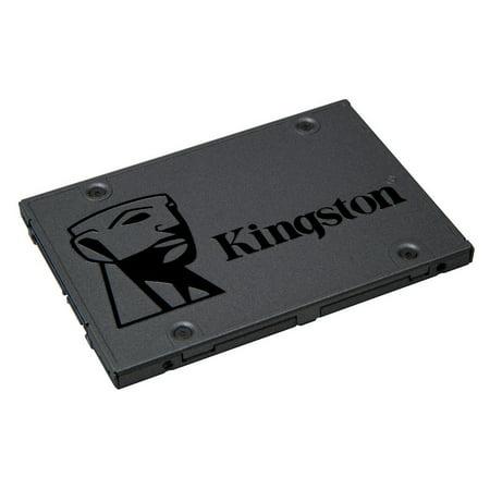 Kingston A400 480GB SATA 3 2.5u0022 Internal SSD SA400S37/480G - HDD Replacement