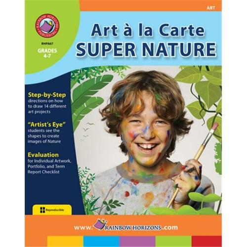 Rainbow Horizons A67 Super Nature Art A La Carte - Grade 3 to 4