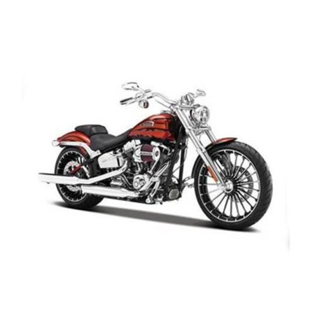 2014 Harley Davidson CVO Breakout Motorcycle Model 1/12 by 32327, Brand new box. Wheels roll and steer. Made of die cast metal with some plastic parts..., By