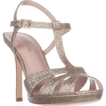a8c36100efb3 Kate Spade New York - Womens Kate Spade New York Feodora T-Strap Dress  Sandals