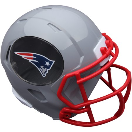 Forever Collectibles NFL Mini Helmet Bank, New England Patriots (New Nfl Helmets)