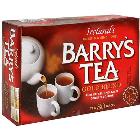 Barry's Tea Gold Blend Tea 80BG (Pack of 6)