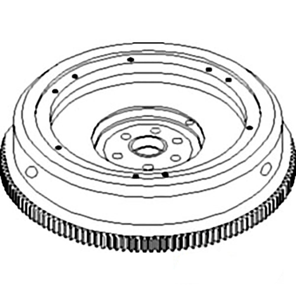 405860r11 New Flywheel Made For Case Ih Tractor Models C 157 2400a