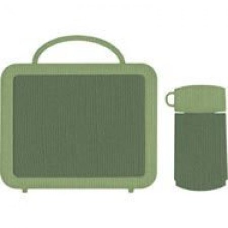 We R Memory Keepers REV-0048 4 by 4 Dies, Lunchbox and Thermos (Memory Box Dies Border)