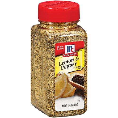 McCormick Superline Deal Lemon & Pepper Seasoning Salt, 15.5 oz