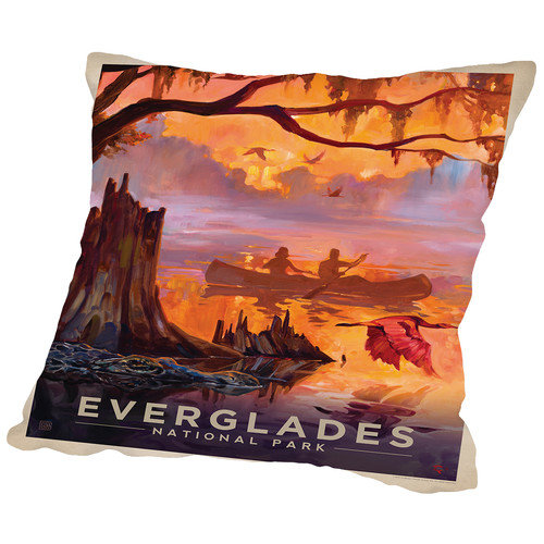 Americanflat Everglades Throw Pillow
