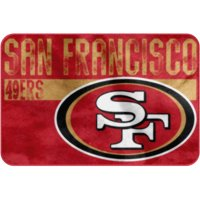 "NFL San Francisco 49ers 20"" x 30"" ""Worn Out"" Mat, 1 Each"