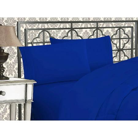 CLEARANCE Super Soft 1500 TC Sheet set , Queen Royal Blue