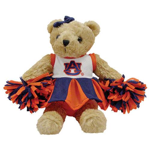 NCAA - Auburn Tigers Cheerleader Bear with Sound