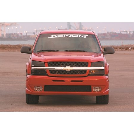 Xenon 10771 Front Bumper Cover; w/Openings For Stock Driving Lights; Incl. Mesh; Urethane;