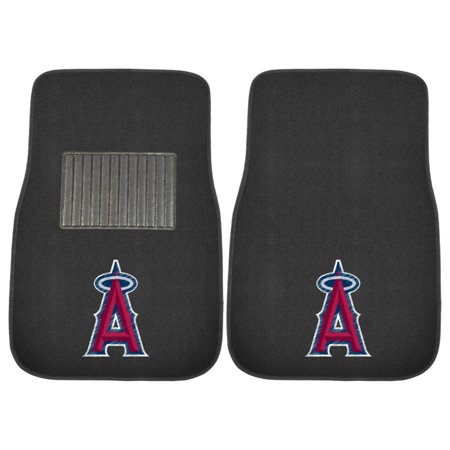 FanMats MLB Los Angeles Angels 2-Piece Embroidered Car -