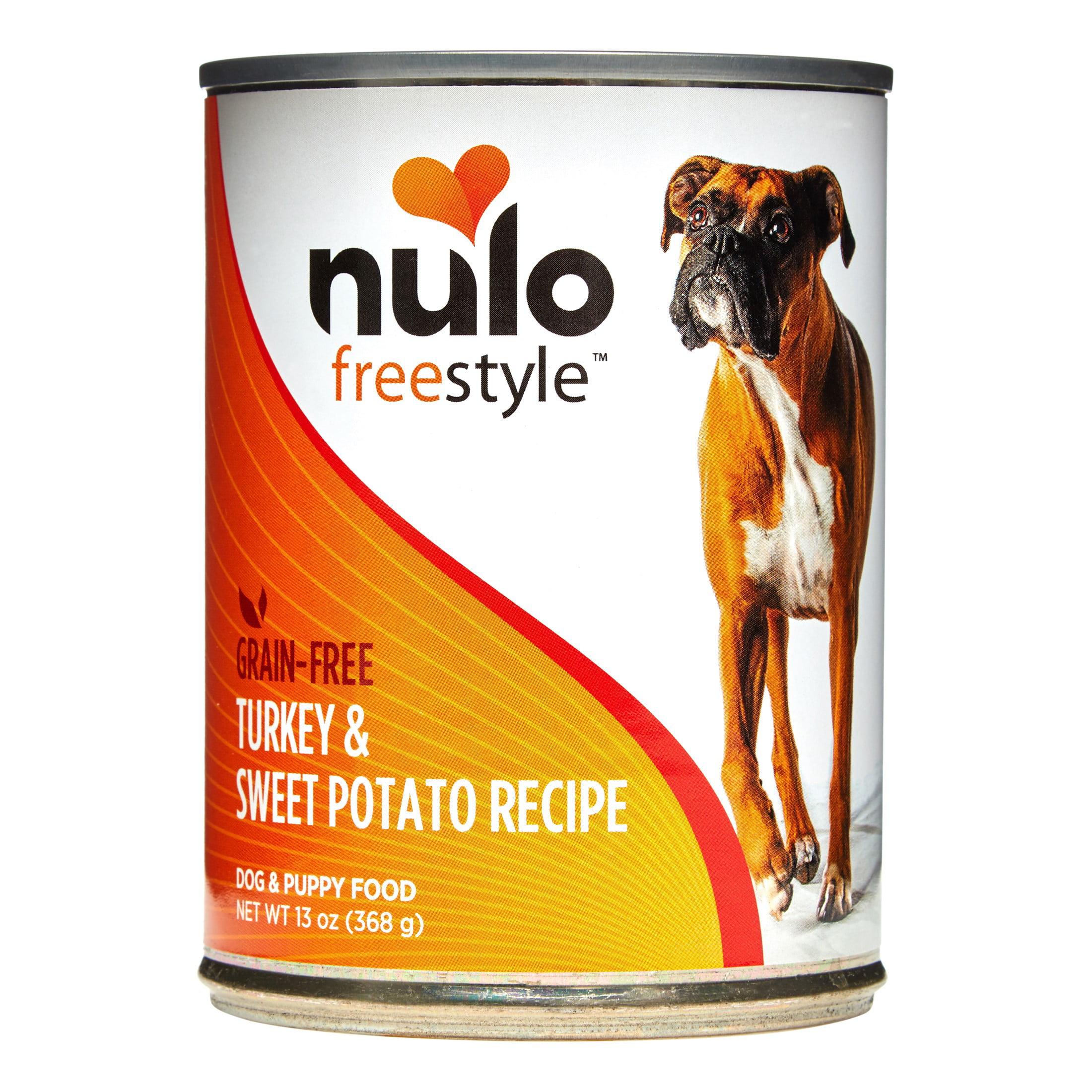 Nulo Freestyle Grain-Free Turkey & Sweet Potato Wet Dog Food, 13 Oz, Case of 12