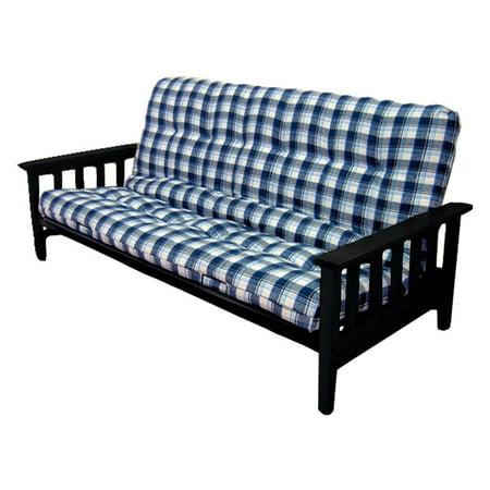 manila wood metal futon frame full size