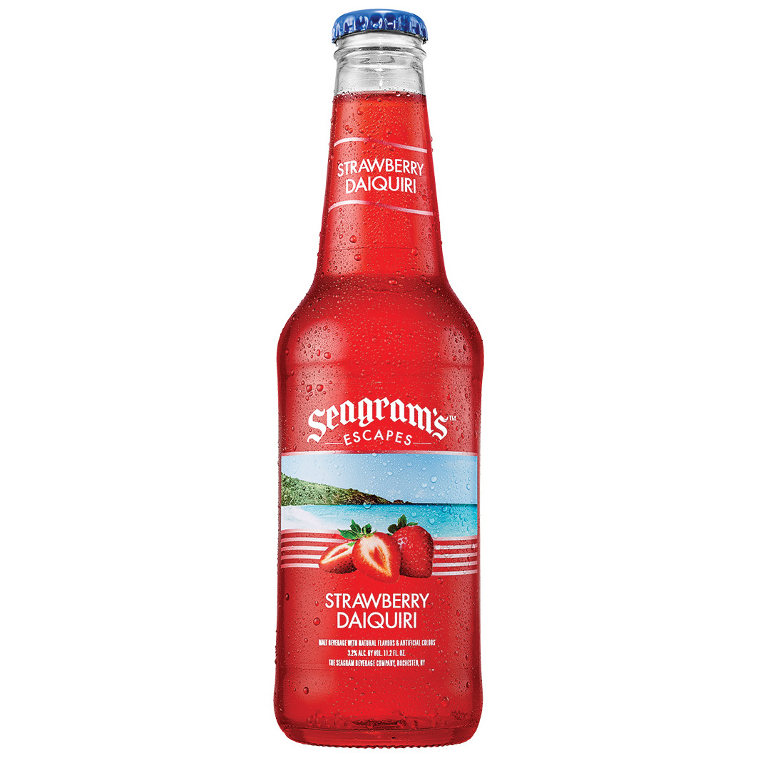 Seagram's Escapes Strawberry Daiquiri Cocktail, 11.2 fl oz