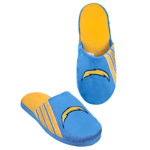 NFL - San Diego Chargers Hard Sole Stripe Slipper